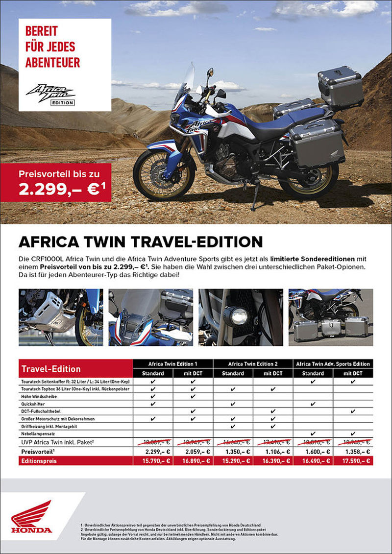 Honda Africa Twin Travel-Edition 2019